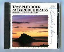The London Gabrieli Brass Ensemble - Baroque Brass - Scarce 1987 Cd Album