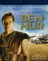 Ben-Hur Charlton Heston (Blu-ray Disc 2-Disc Set, Fiftieth Anniversary) NEW