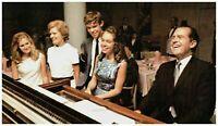 President Richard Nixon w/ Pat NIxon & Kids Campaign Postcard Rare