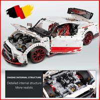 Custom Technic GTR R35 R32 42115 42056 42083 Bausteine Blöcke MOC 3408 Teile
