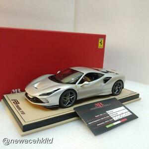 Ferrari F8 Tributo Argento Nurburgring Lim:49pcs MR COLLECTION 1/18 #FE027F