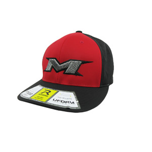Miken Hat by Richardson (PTS30) Black/Black/Red/Black/Zebra