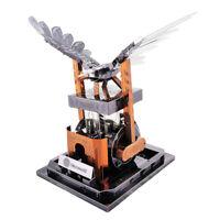 88pcs 3D Metal Puzzle Jigsaw Toy Mechanical Eagle Figurine Robot Model Decor