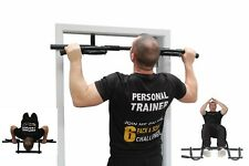 FITNESS DOOR GYM BAR EXERCISE CHIN UP PULL PUSH UP STRENGTH WORKOUT