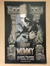 The Mummy Variant (1932) Lithograph Print by Paul Mann - NT Mondo - Edt. of 75