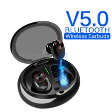 V5 Bluetooth 5.0 Wireless Earbuds Sports Headsets Noise Cancelling Headphones