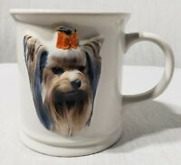 Vintage 1999 YORKIE Xpres Coffee Cup 3-D Dog Mug Best Friend Originals B Augello