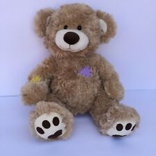 "Build A Bear Workshop Patches Corduroy Teddy Bear ""I Love You"" Sound Plush Stuff"