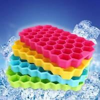 Silicone Honeycomb Shape Jelly Pudding Cake Chocolate Ice Tray Mold Mould Cube