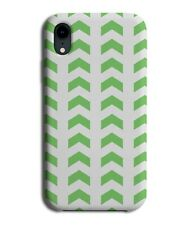 Dark Green Arrows Pattern Phone Case Cover Arrow Design Direction Shapes G513