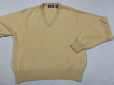 Vintage LORD & TAYLOR Two Ply Cashmere Sweater V Neck Men's Size 2XL