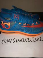 buy online ce669 f7983 NIKE KD VI ELITE KEVIN DURANT PHOTO BLUE ORANGE-MANGO SZ MEN S 8.5. NIKE KD  VI ELITE KEVIN DURANT PH…  116.00. Free shipping. NIKE KD White Metallic  Gold ...