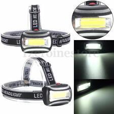 15000LM COB LED Headlamp Waterproof Head Torch 3AAA Headlight Camping Light 🔥