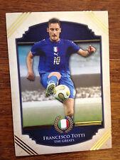 2014 Futera Greats Unique Soccer Card- Italy TOTTI Mint