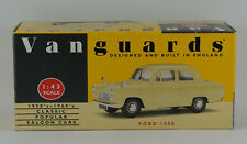 Vanguards Ford 100E in Conway Yellow VA21000 - Boxed. Model has some marks.