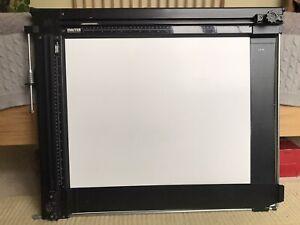 "RRB Large Photographic Darkroom Enlarger Printing Easel Black White 16x20"""