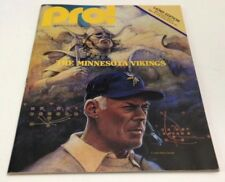1979 Pro Football Program Vikings Vs Lions