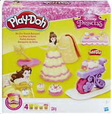 Official Disney Princess Belle Be Our Guest Banquet Play-Doh *NEW*
