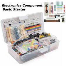 Electronic Components Starter Kits Breadboard LED Cable Resistor Fit For Arduino