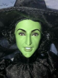 75th Anniversary The Wizard of Oz Wicked Witch of the West Barbie Doll Broom