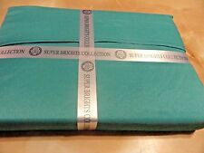 New 3 pc Deep Pocket~Twin~Sheet Set~Turquoise Blue Luxurious Feel Back to school