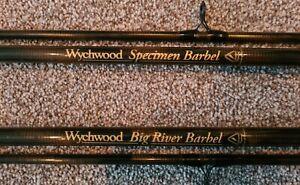 Wychwood 2 rod set.Big River Barbel 12ft 2LB TC & Specimen Barbel 12FT 1.75LB TC