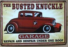 GARAGE Rustic Look Vintage Tin Metal Sign Man Cave, Shed-Garage & Bar Sign