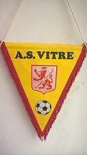 Vintage Fanion A.S. Vitre Bretagne Football Foot 31 cm x 24 cm
