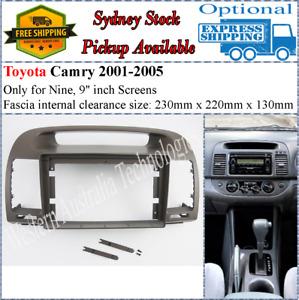 For 9 Nine Inch Screen Fascia facia Toyota Camry 2001-2005