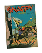 1945 Snappy Comics #1 Air Male Beau Brummell Socerer