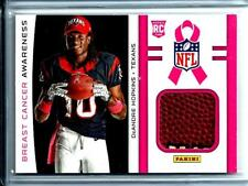 2013 Panini Breast Cancer Awareness Football Relic DeAndre Hopkins Rookie Texans