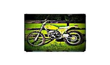 1979 suzuki beamish Bike Motorcycle A4 Photo Poster