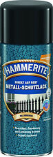 Hammerite Metall-Schutzlack Spray Hammerschlag Sprühdose 400 ml dunkelgrün NEU