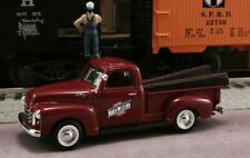New In Box 1/43 1950 GMC Pickup Chicago and North Western Railroad with RR Ties