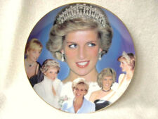 WEDGWOOD PRINCESS DIANA PLATE PLAQUE JEWEL IN THE CROWN COMPTON WOODHOUSE 8""
