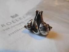 NEW Trollbeads 925 LAA Sterling Silver Snails In Love TAGBE-30088 Bead