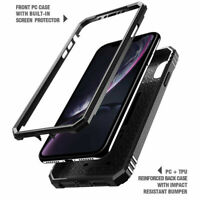 Poetic Shockproof Case For iPhone XR Full Coverage Protective Cover Black