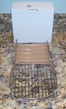 New listing Electric Air Fryer Oven Stainless Steel Double Layer Cooking Rack w/Skewers Nib
