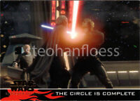 2005 Topps Star Wars: Revenge of the Sith Promo P1 The Circle Is Complete