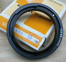 canon FD FL body fit  reverse attachment adapter ring to 58mm