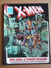 X-MEN Dio Ama L'Uomo Uccide Collana Labor Comics 1986  [G494] RARO !!
