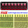 Car Marine Boat RV 8-Gang Waterproof Circuit Red LED Rocker Switch Panel Breaker