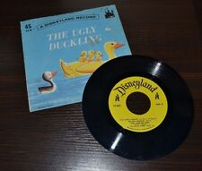 A DISNEYLAND Record The Ugly Duckling  45 RPM 1967 Walt Disney Productions