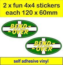 2 OFF ROAD 4x4 Adesivi Divertenti Grafica DEVON Decalcomanie Land Rover Defender Discovery