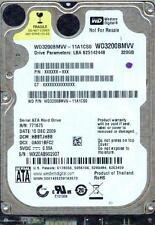 WD3200BMVV-11A1CS0  HBBTJHBB,  WESTERN DIGITAL 320GB  Micro USB