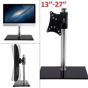"New Computer Monitor Arm Mount Desks Stand 13-27""Screen LED TV Bracket Mounts"