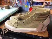 Vans Sk8-Hi Reissue Strap Leather Ballistic/Cornstalk Size US 11 Men VN0A3QY2UB5