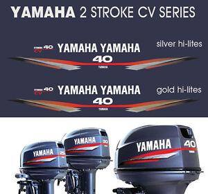 YAMAHA 40hp Two Stroke CV Series