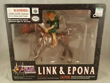 Legend of Zelda Majora's Mask Link & Epona Figure Epoch 2001 BRAND NEW Nintendo