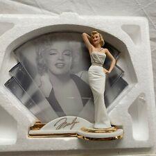 "Marilyn Monroe ""Legendary� Reflections of Marilyn Statue Bradford Exchange Coa"